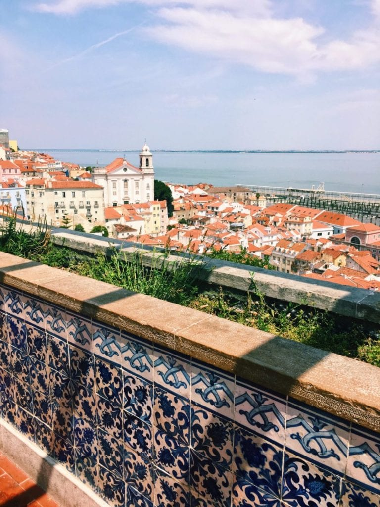 Alfama District Lisboa Portugal - TravelsWithElle