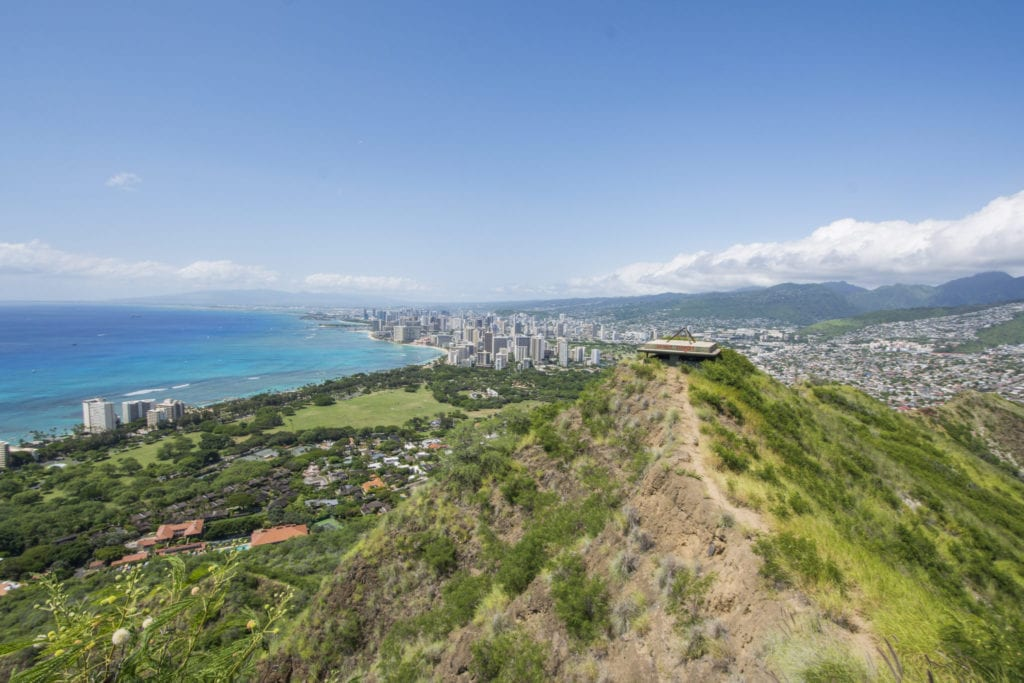 Diamond Head Hike - www.travelswithelle.com