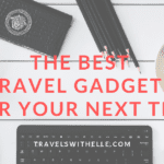 Best Travel Gadgets - www.travelswithelle.com