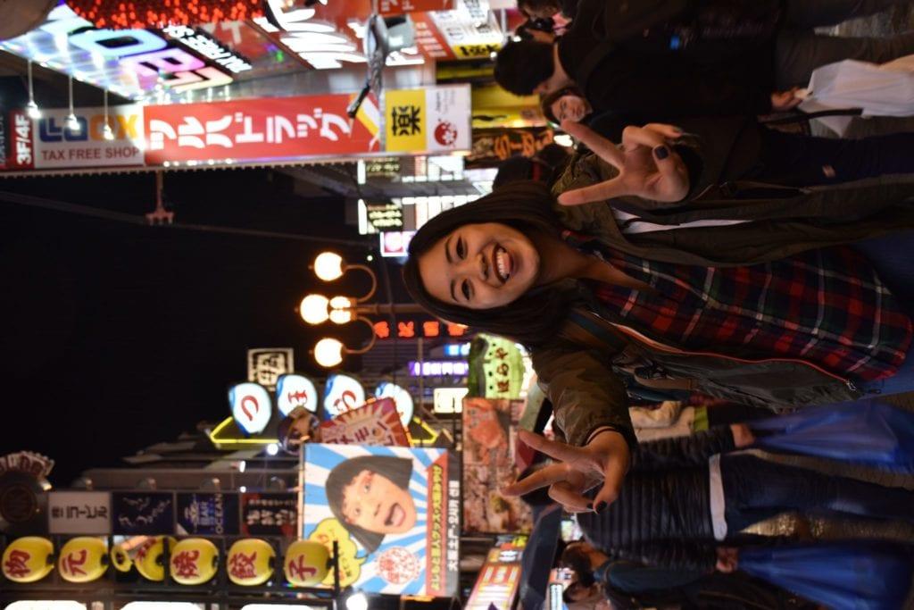 Dotonburi Osaka Japan - Travels With Elle