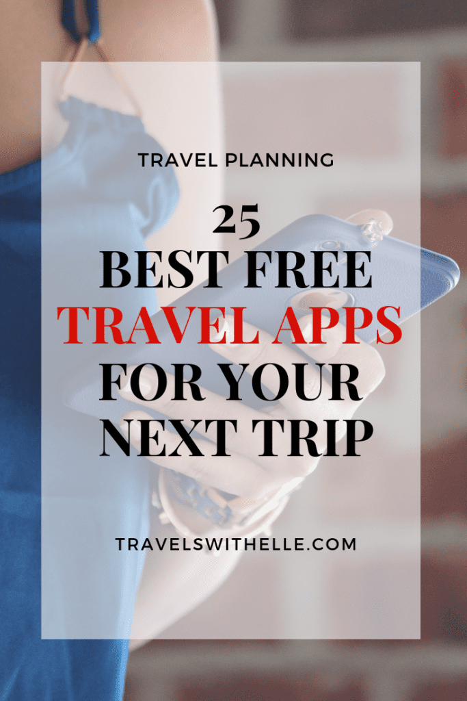 best free apps - www.travelswithelle.com