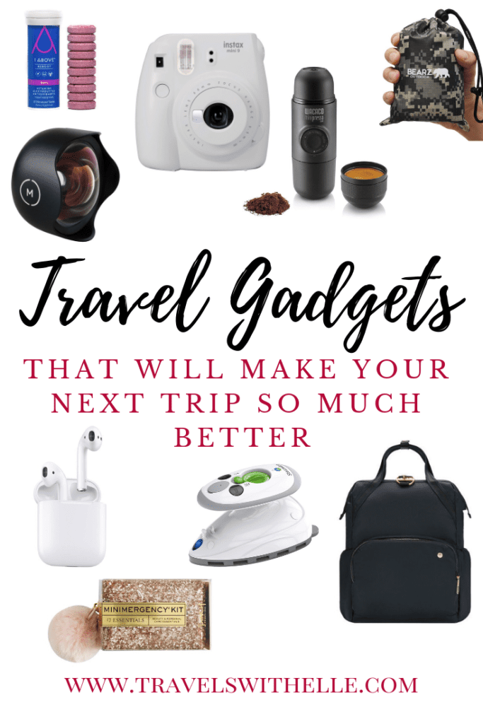 Travel Gadgets That Will Make Your Next Trip So Much Better - www.travelswithelle.com