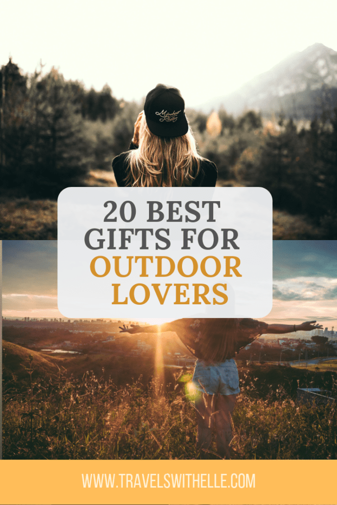 Best Gifts For Outdoor Lovers - Travels With Elle