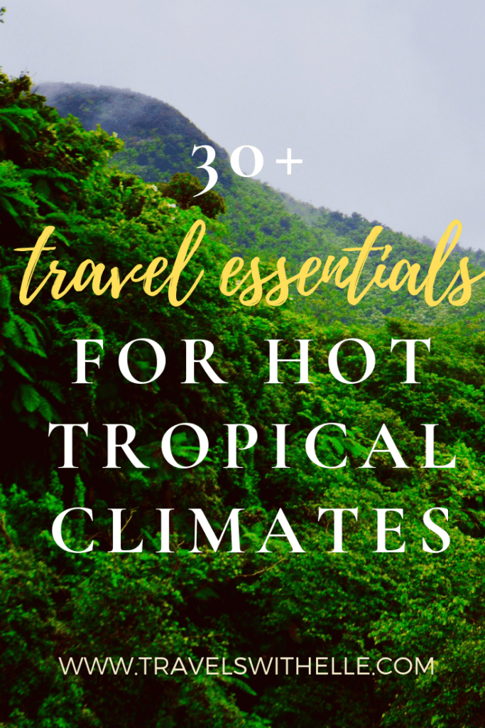 travel essentials for hot climates - www.travelswithelle.com