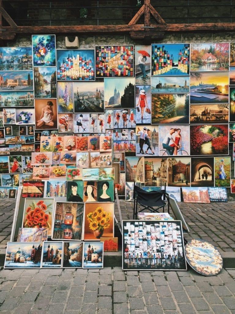 krakow flea market - www.travelswithelle.com