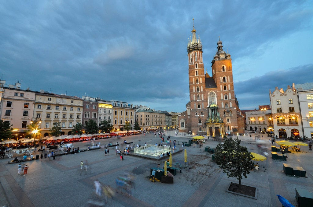 main square krakow - www.travelswithelle.com