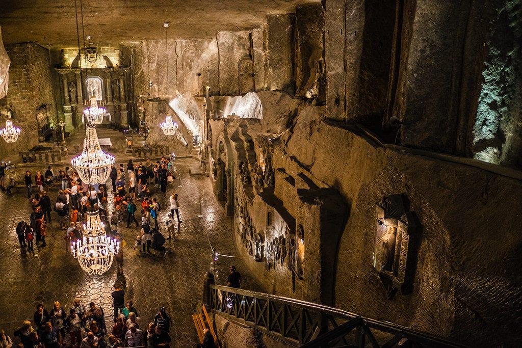 The Wieliczka Salt Mine (Polish: Kopalnia soli Wieliczka) - www.travelswithelle.com