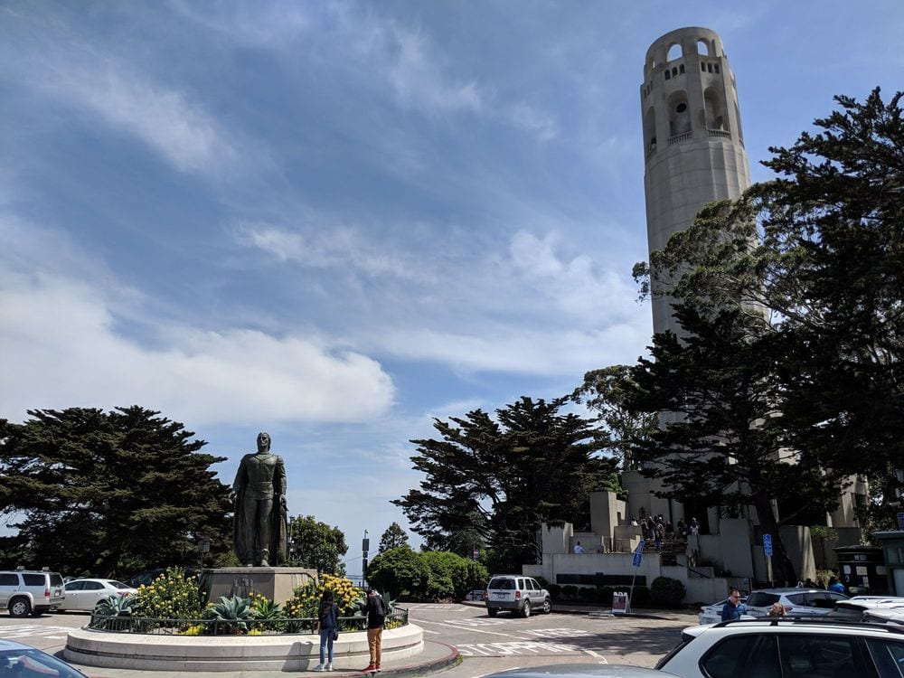 pioneer park coit tower - www.travelswithelle.com