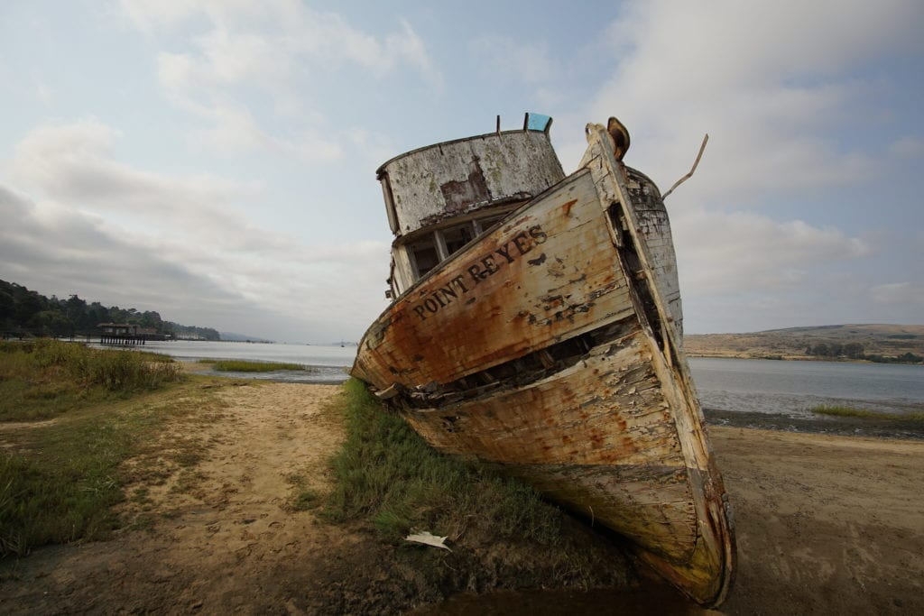 Point Reyes Tomales Bay CA