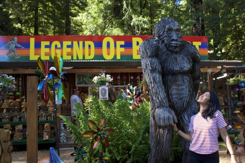 Legend of Bigfoot CA