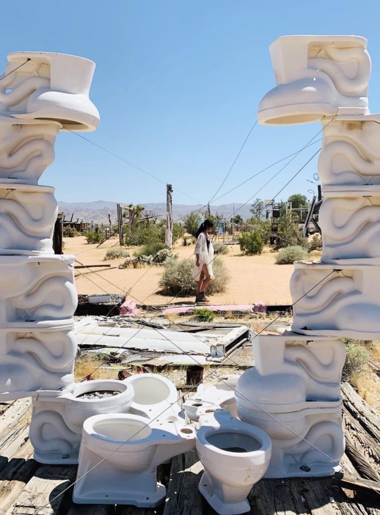 Noah Purifoy Outdoor Museum - The Perfect California Desert Road Trip