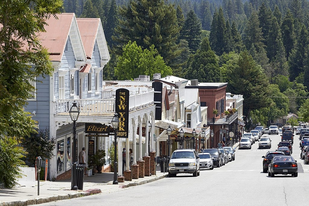 Nevada City - Gold Rush Town