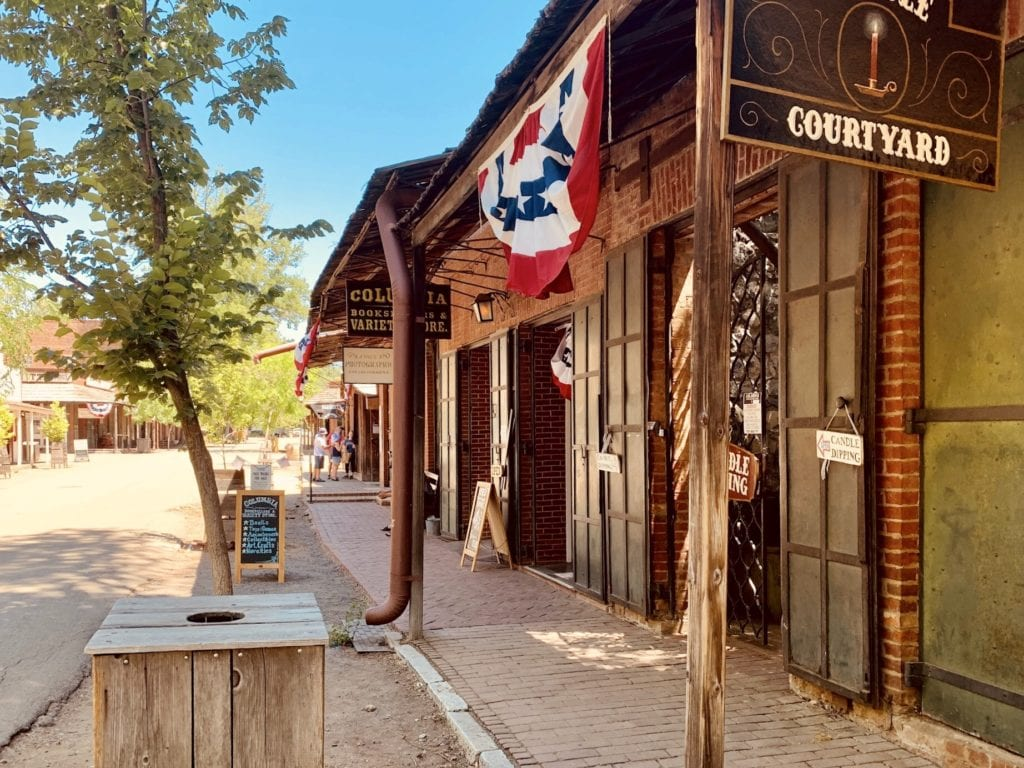 Columbia State Historic Park - Travels With Elle