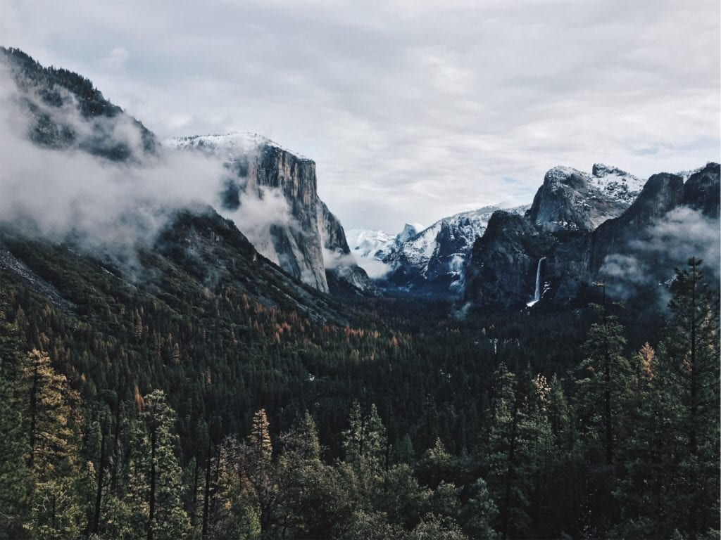 Tunnel View Yosemite - Travels With Elle