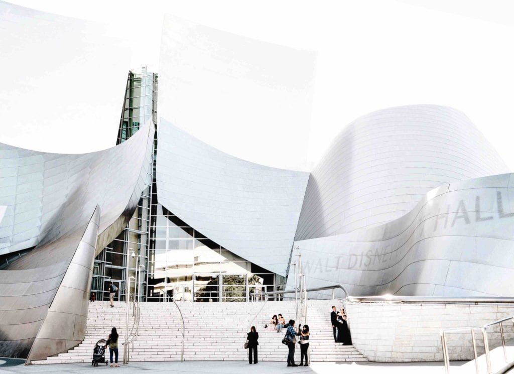los angeles disney concert hall - Travels With Elle
