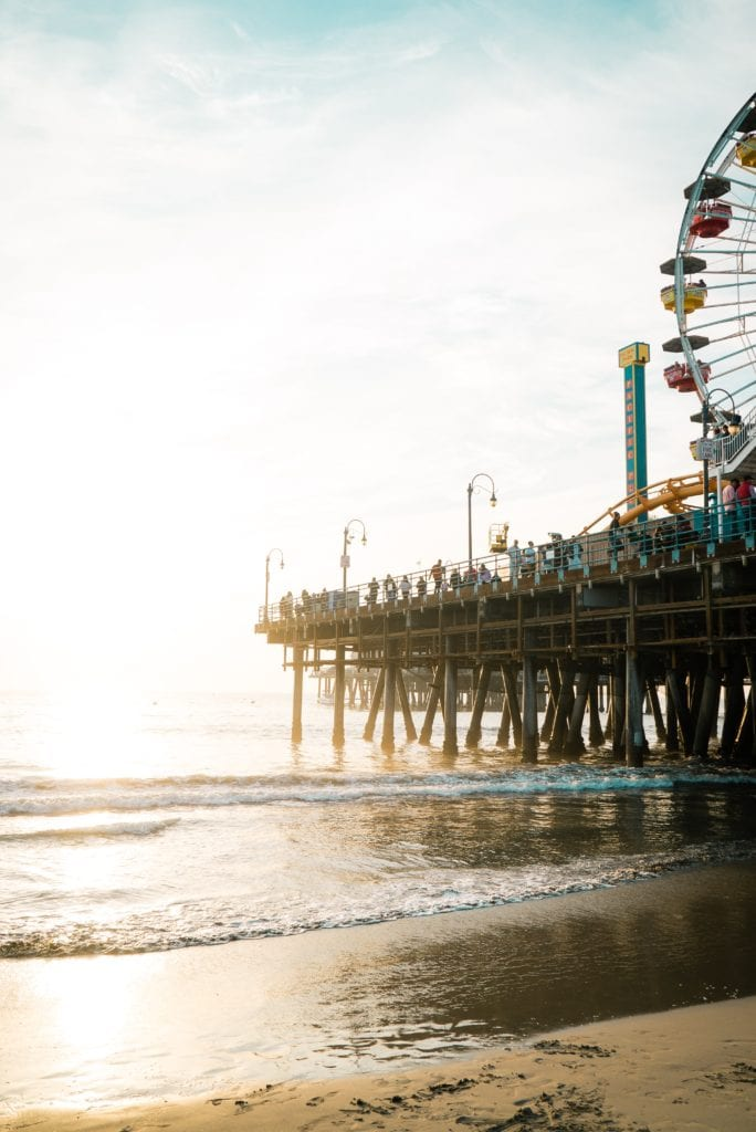 Santa Monica Pier - Travels With Elle