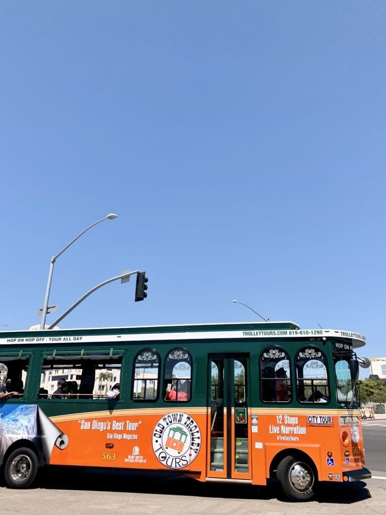 18 Exciting Things To Do In Downtown San Diego -Trolley Tour - Travels With Elle