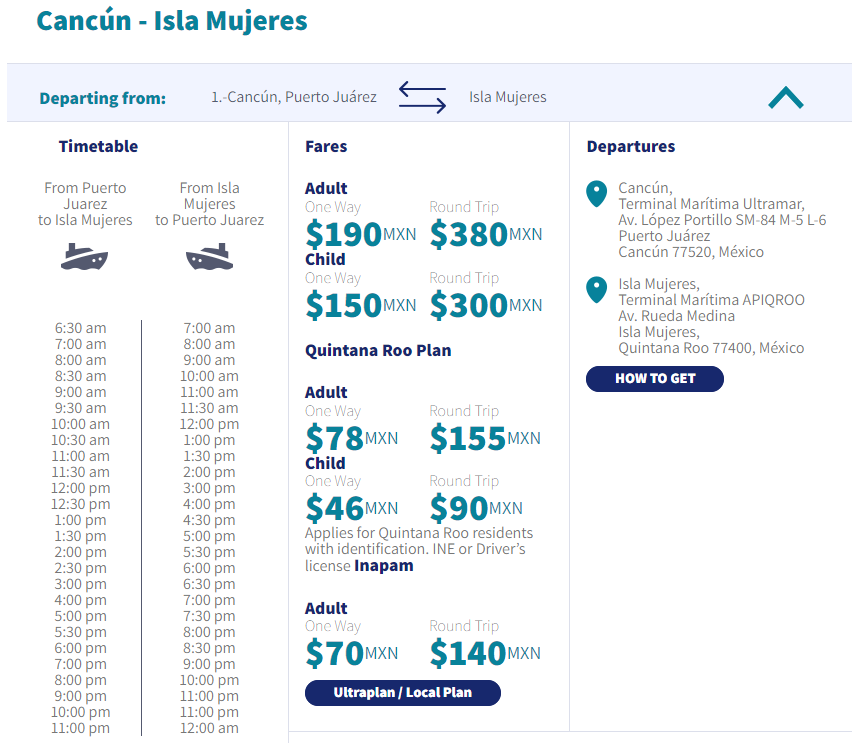 How To Get To Isla Mujeres By Ferry From Cancun - Travels With Elle