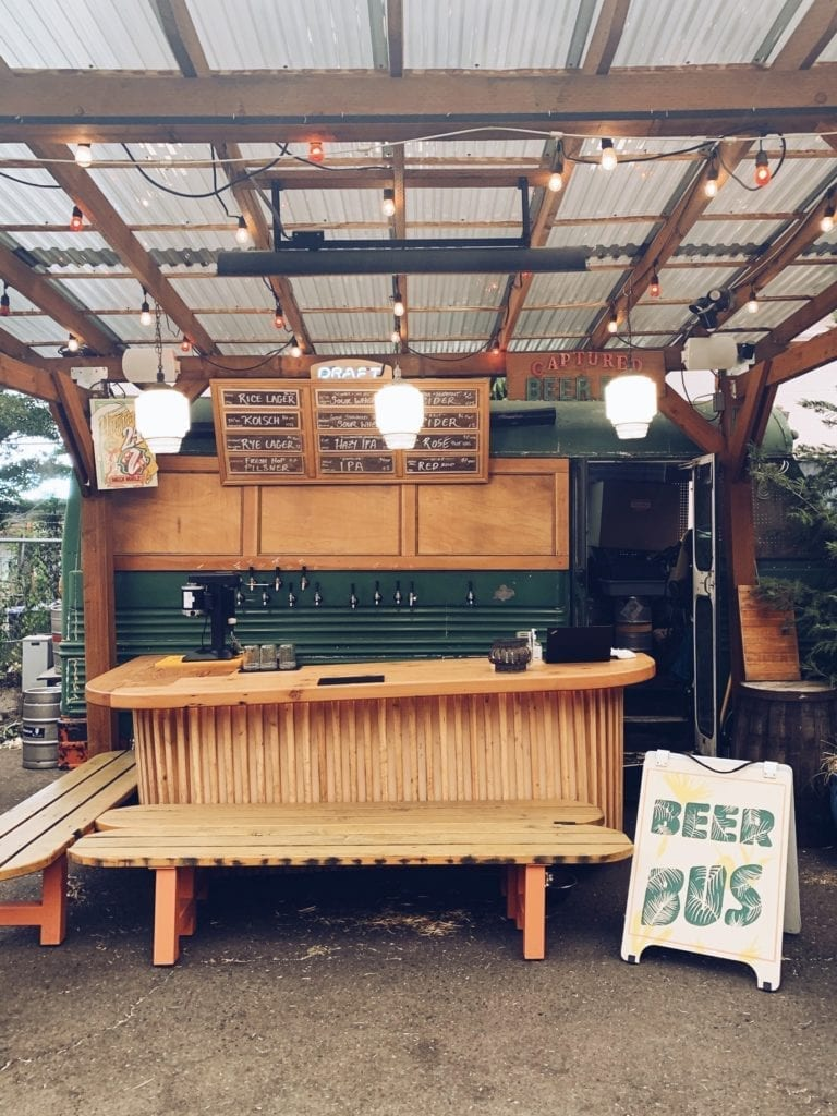 Portland Beer Truck - Travels With Elle