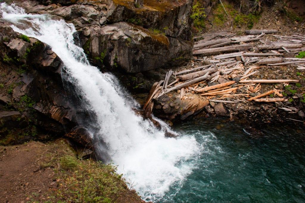 Silver Falls Mount Rainier NP