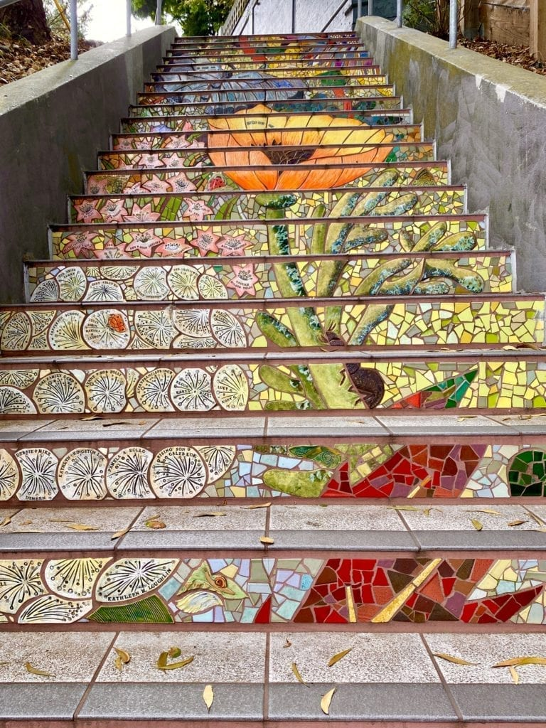 Secret Garden Steps - Things To Do in San Francisco
