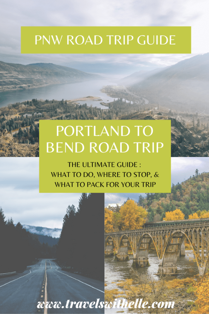 Portland to Bend Road Trip - Travels With Elle