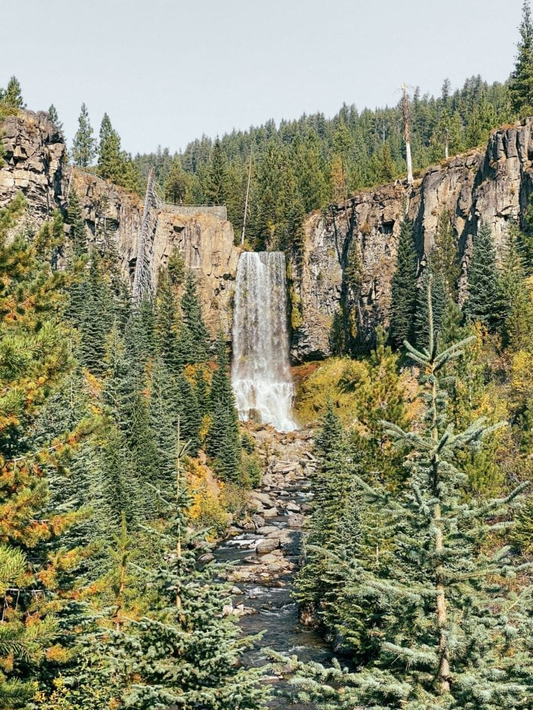 Tumalo Falls Bend, Oregon - Travels With Elle