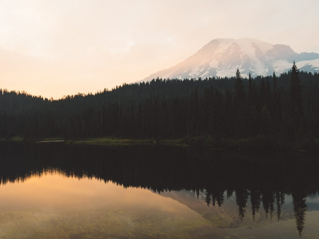 18 Best Things To Do At Mount Rainier National Park For First Timers - Reflection Lake