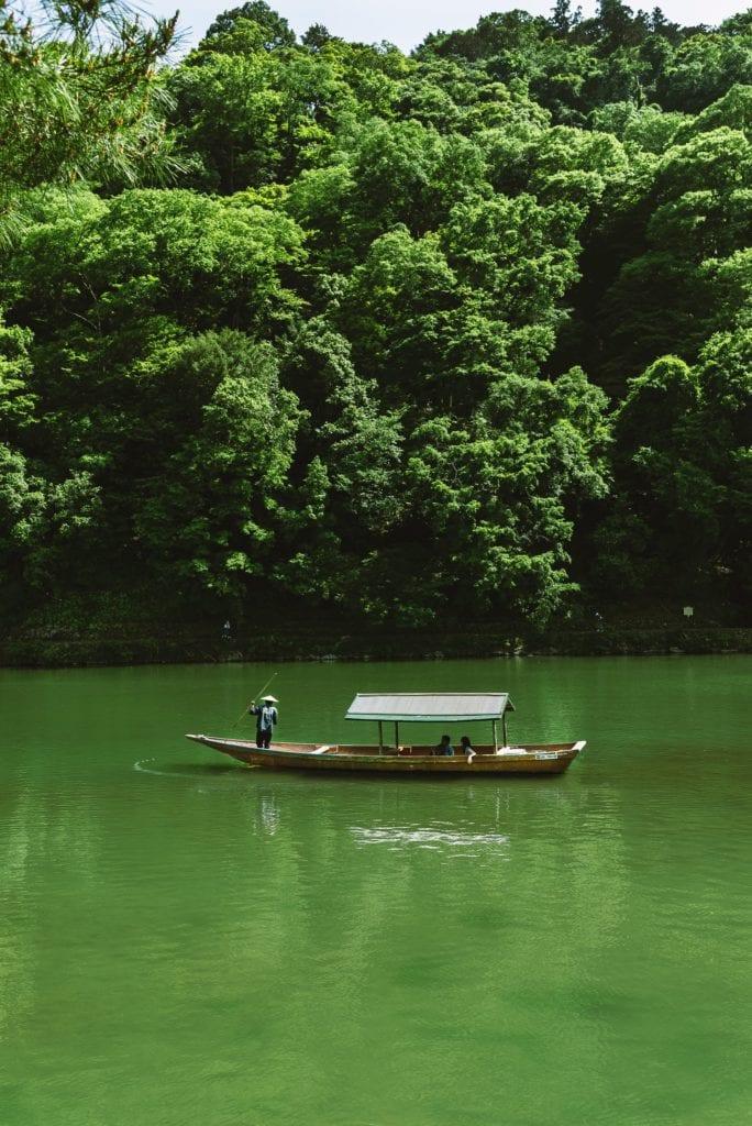 Arashiyama Boat Rental Kyoto Japan