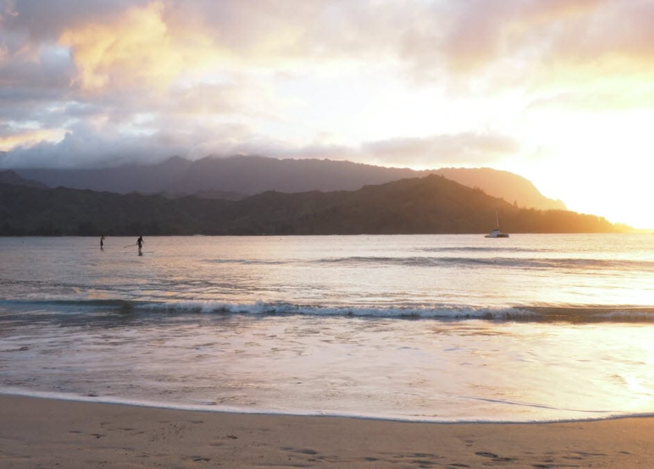 Hanalei Beach - Epic Things to Do on Kauai