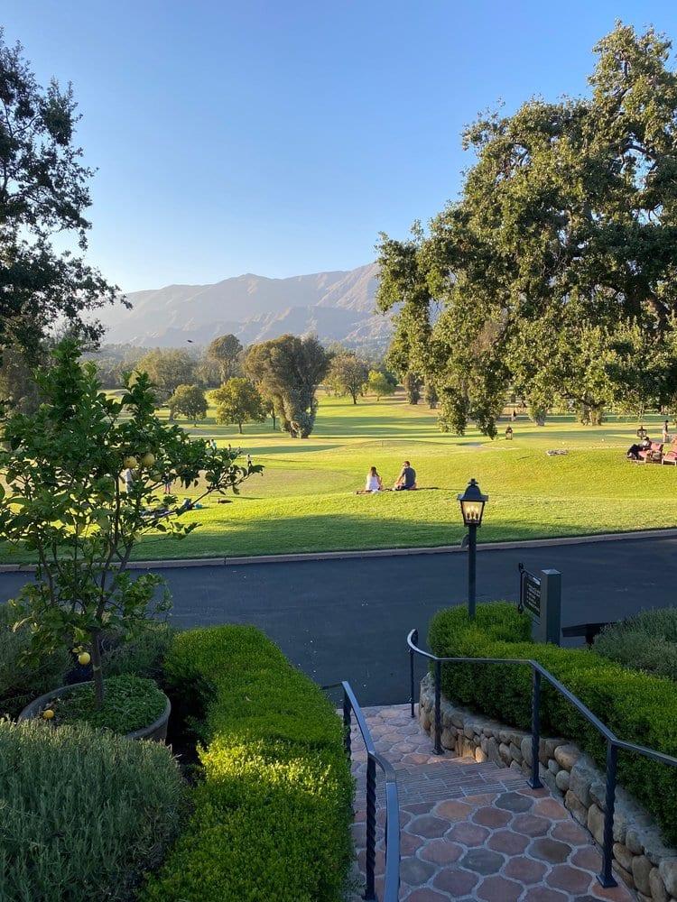Ojai Valley Inn Grounds - Things To Do In Ojai. CA
