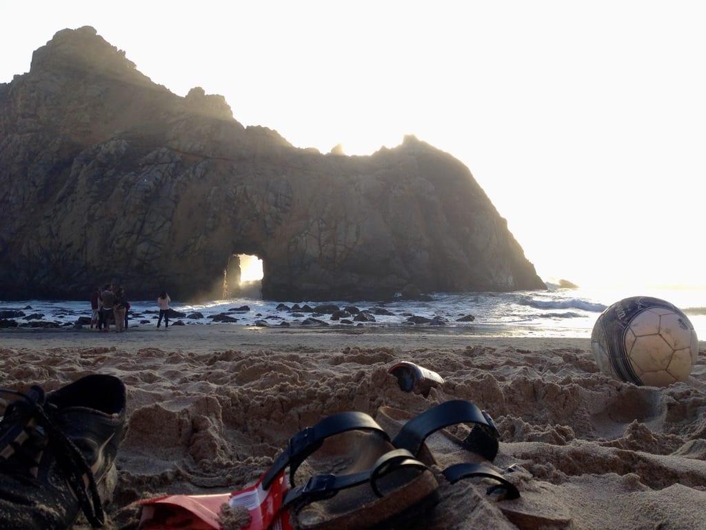 Pfeiffer Beach Keyhole Rock - Big Sur Weekend Itinerary