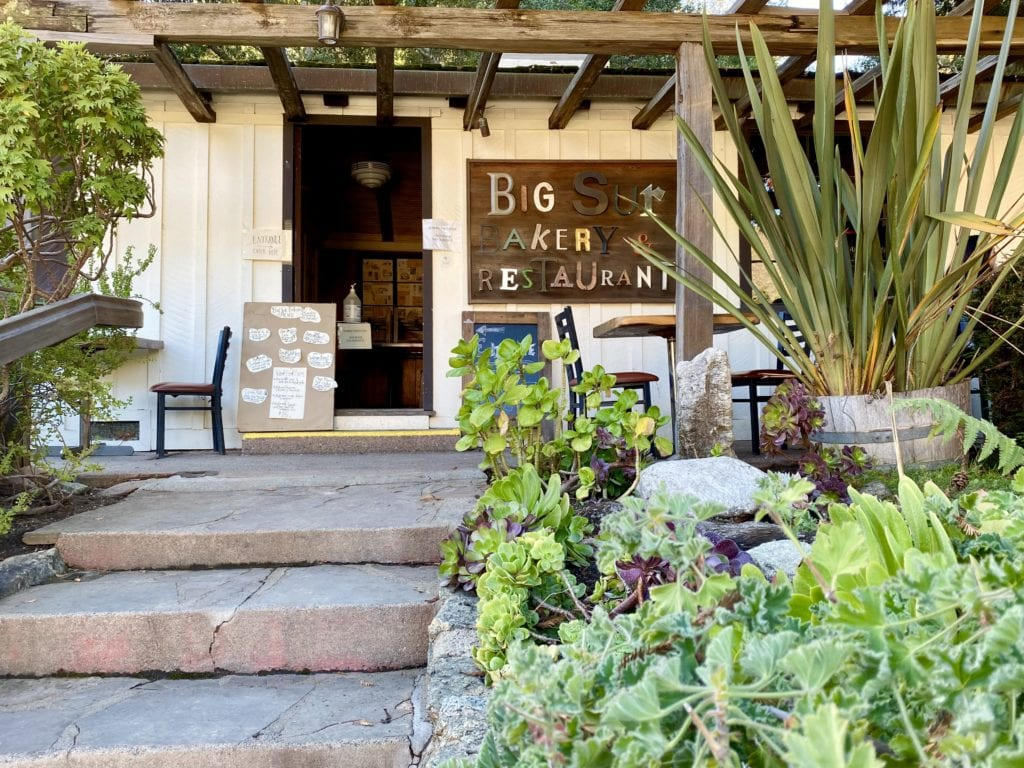 Big Sur Bakery - Big Sur Weekend Road Trip - Travels With Elle