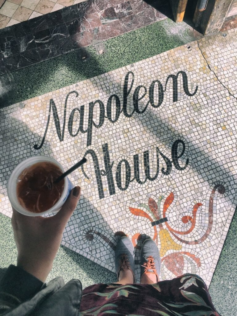 Pimm's Cup Napoleon House - Travels With Elle