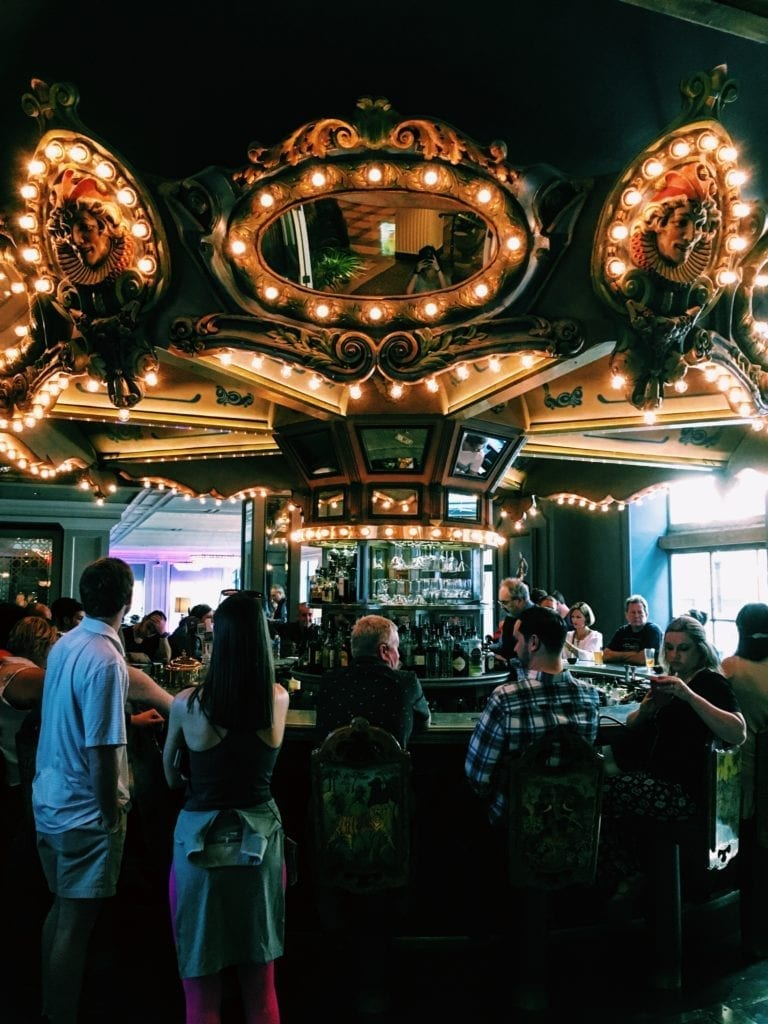 Carousel Bar - Free and Affordable Things To Do In New Orleans - Travels With Elle