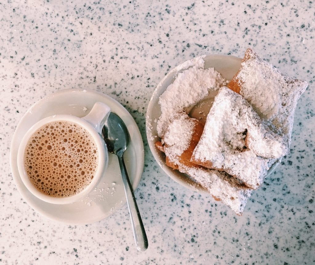 Cafe Du Monde - Free and Affordable Things to Do In New Orleans - Travels With Elle