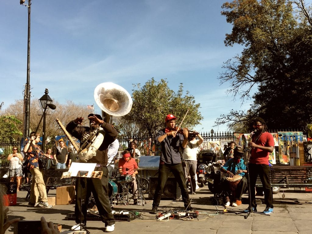 Jackson Square - Things To Do In New Orleans - Travels With Elle