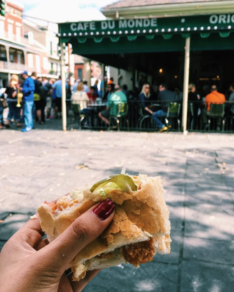 Po Boy New Orleans - Travels With Elle