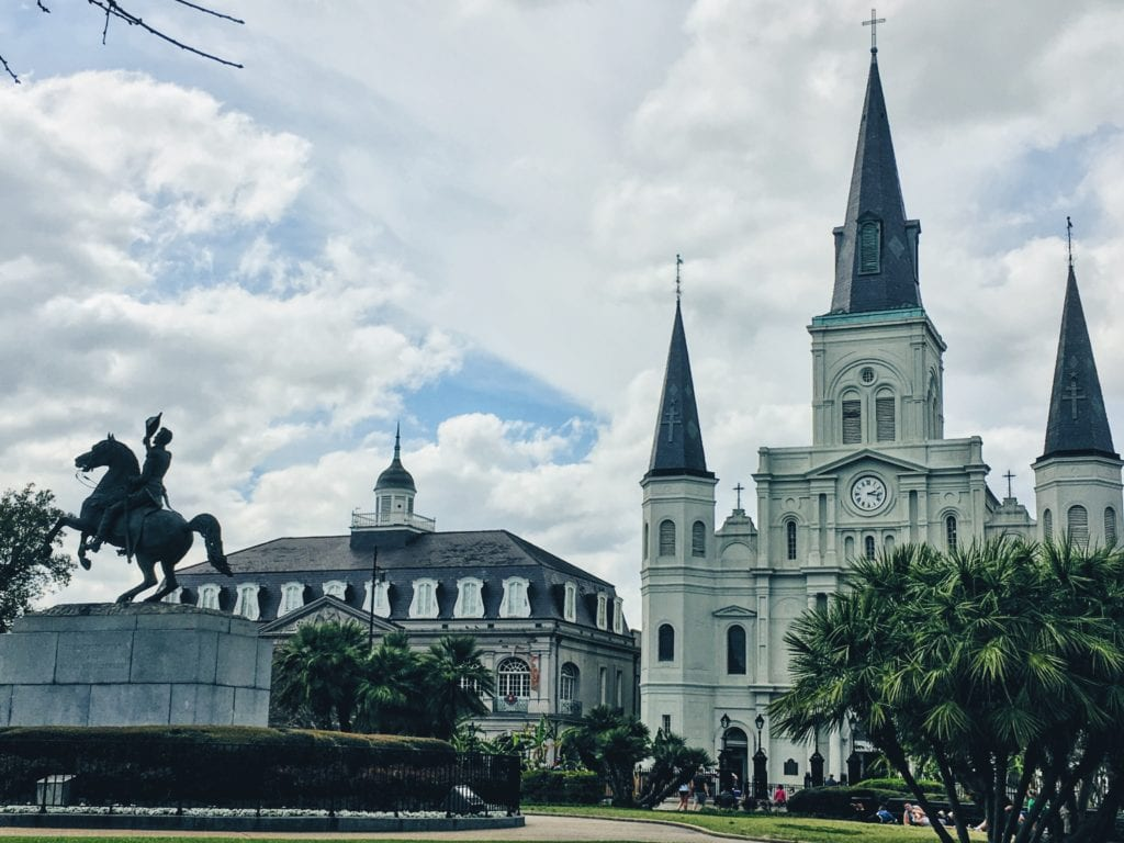 Jackson Square - Free and Affordable Things To Do In New Orleans - Travels With Elle