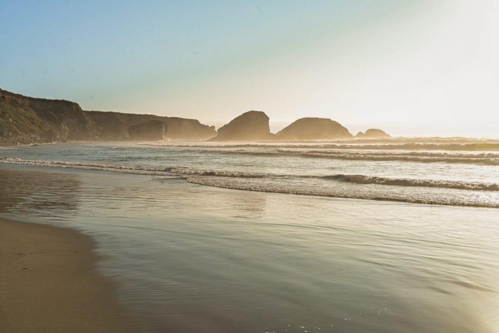 big sur sand dollar beach