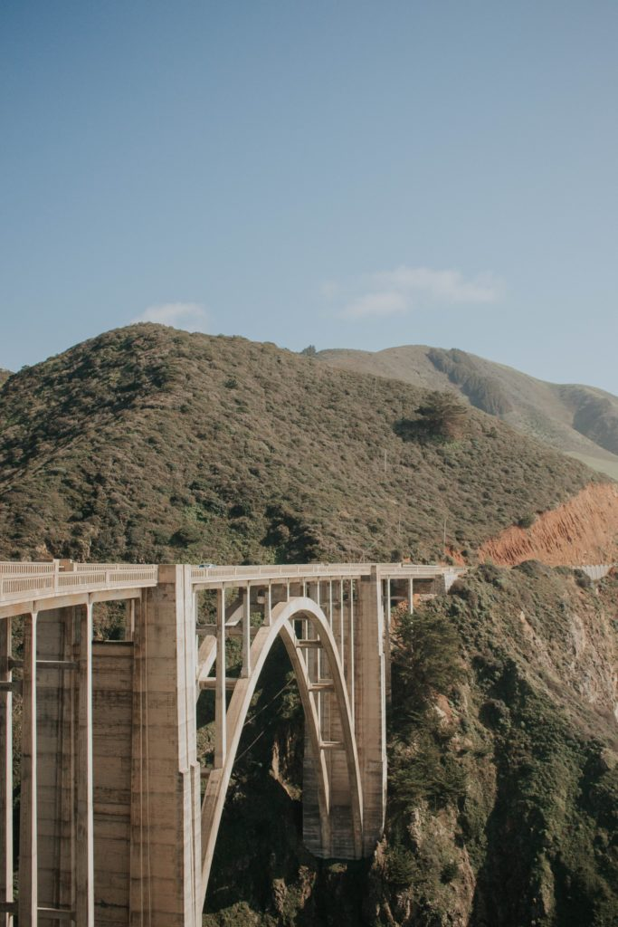 bixby bridge big sur CA