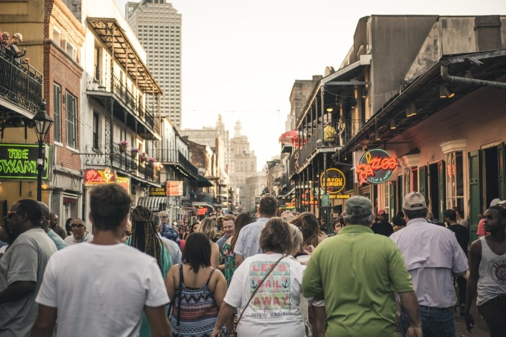 Bourbon Street - Free and Affordable Things To Do In New Orleans - Travels With Elle