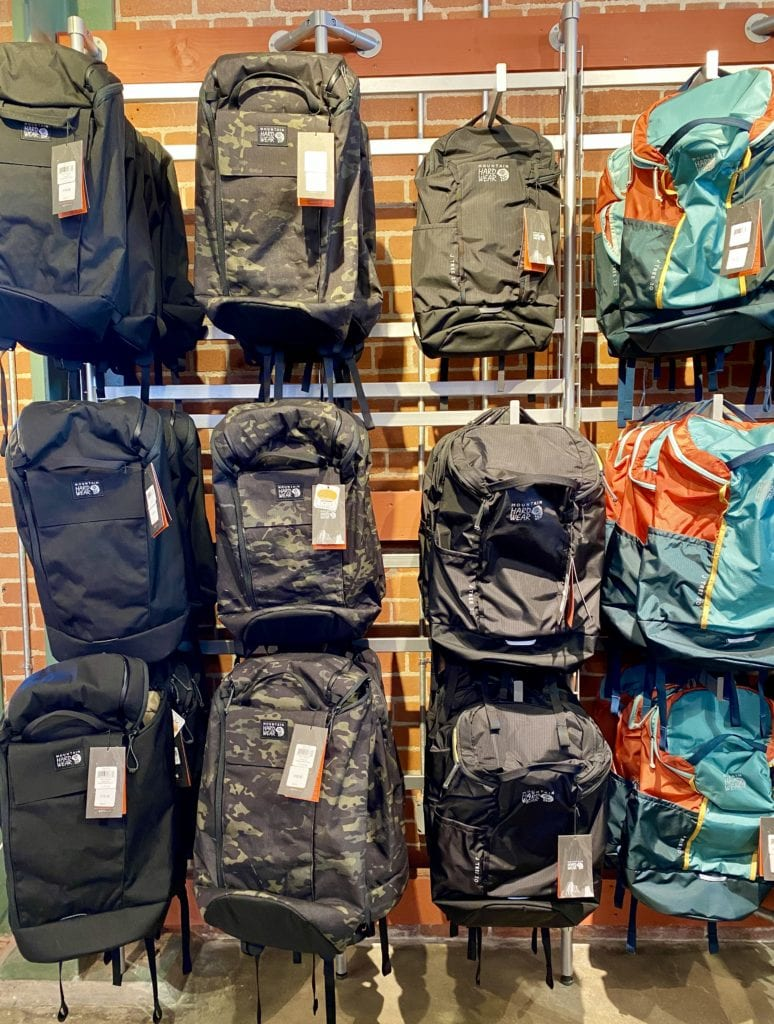 Mountain Hardware Backpacks Employee Store -How To Get Into The Columbia Employee Store - Travels With Elle