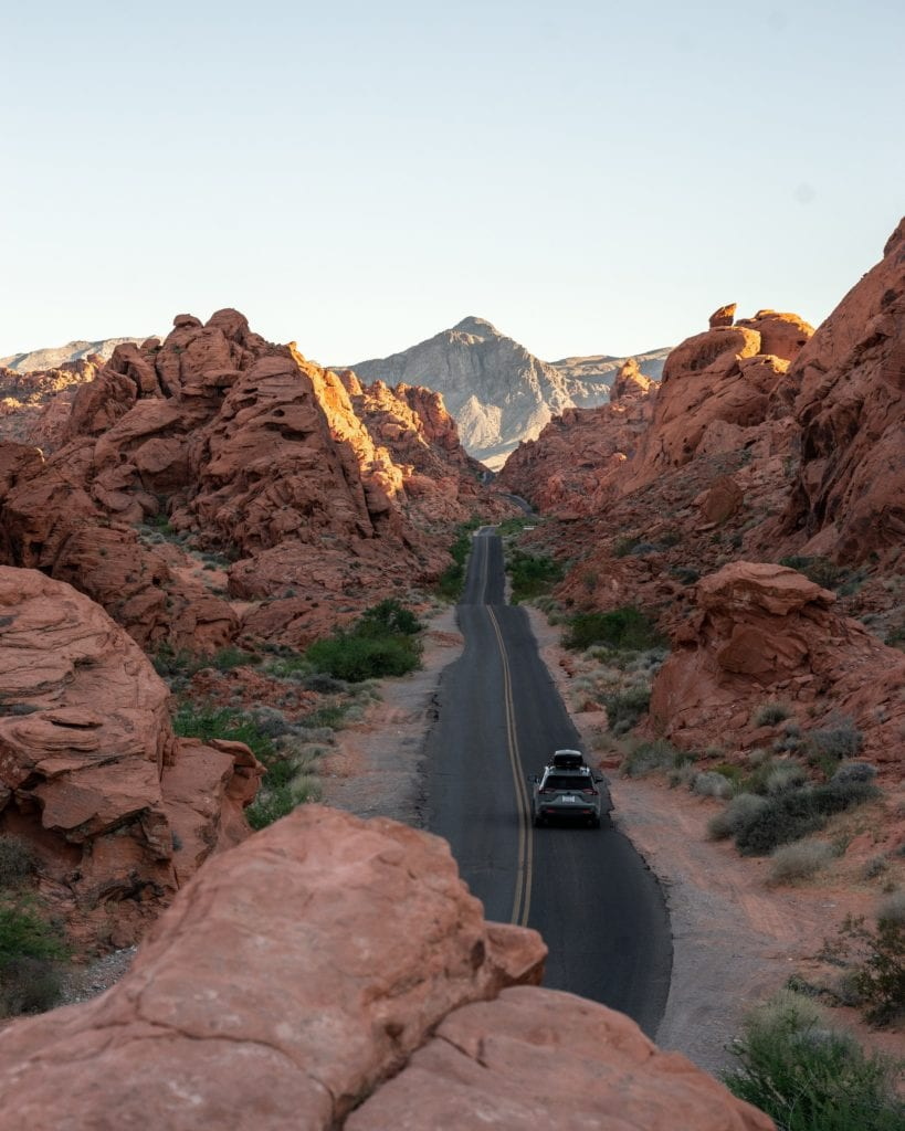 Valley of Fire State Park - Best LA to Vegas Road Trip Stops - Travels With Elle