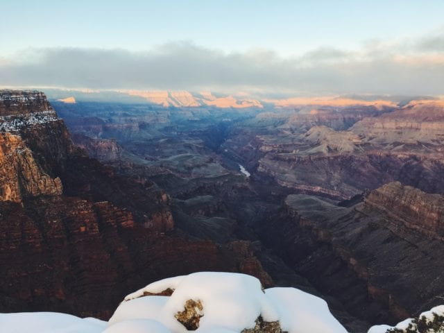 Sunrise at The Grand Canyon - The Perfect 4 Day Arizona Road Trip Itinerary - Travels With Elle