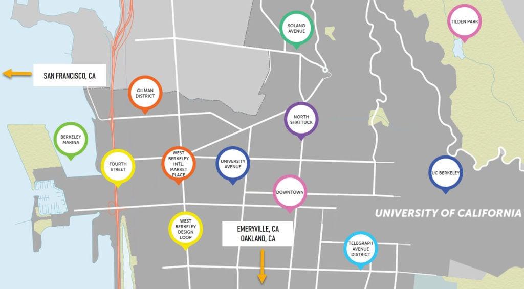 Berkeley Neighborhoods To Visit - Travels With Elle