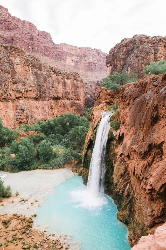 Havasu Falls - The Perfect Arizona Road Trip - Travels With Elle