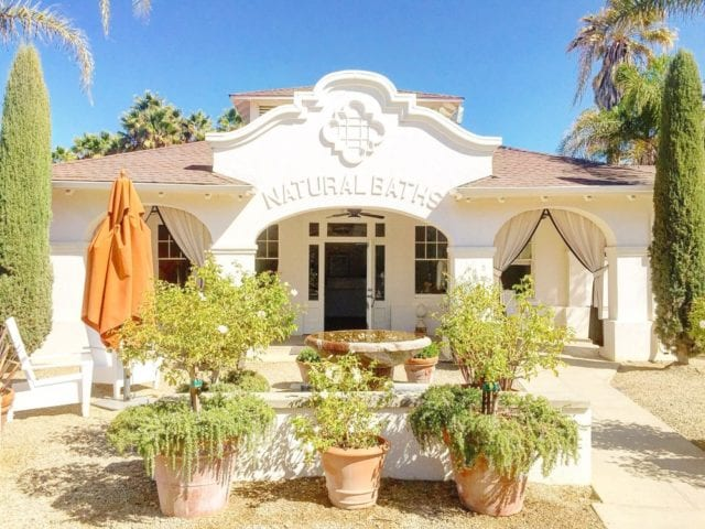 Mud Bath Calistoga CA - Best Things to Do In Napa Besides Wine - TravelsWithElle
