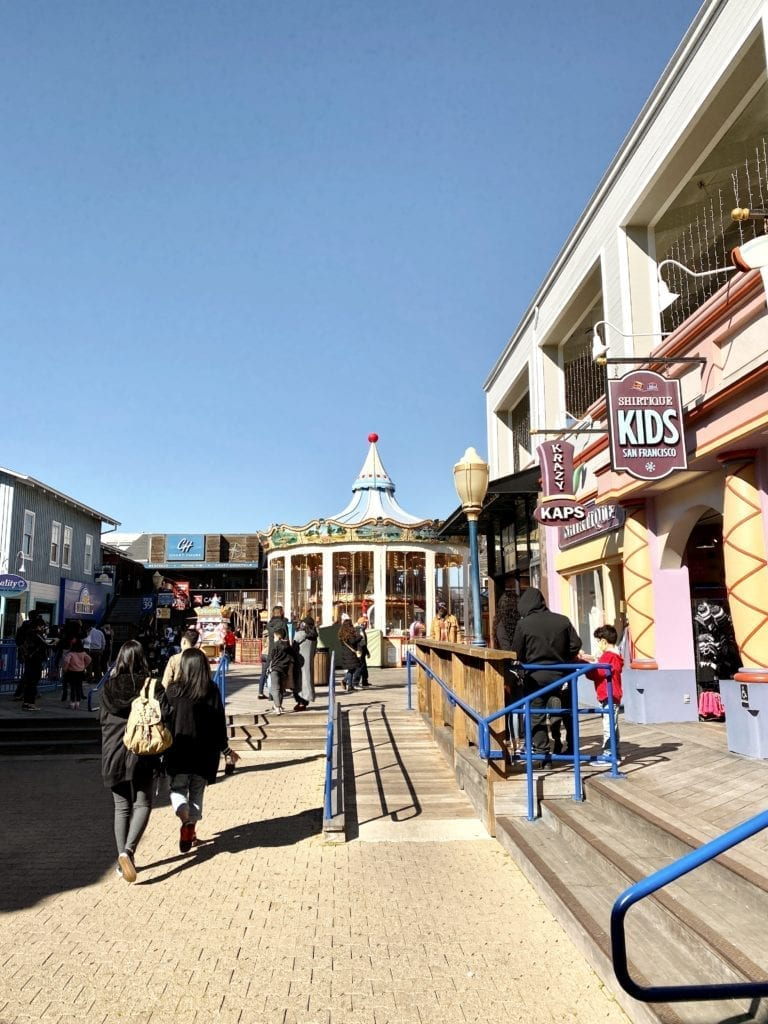 Pier 39 - Free and Affordable Things To Do in SF - Travels With Elle