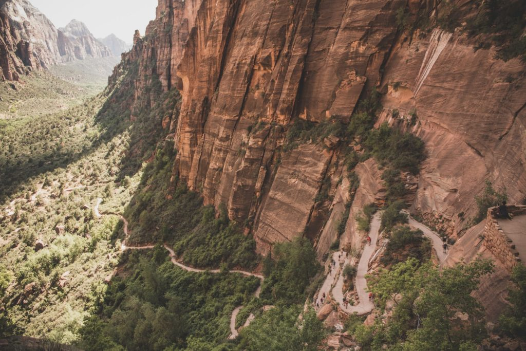 Angels Landing Hike - Zion and Bryce Canyon National Park Road Trip_
